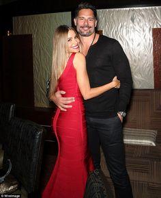 Sofia Vergara cuddles up to Joe Manganiello in a cute Instagram shot #dailymail