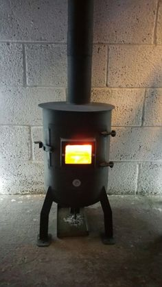 gas bottle,woodburner/chiminea