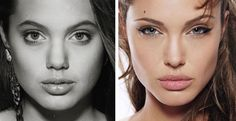 Angelina Jolie Before Plastic Surgery Always interesting what you can find when you type in plastic surgery and other related terms