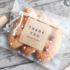 Pack von 100 Cellophan Taschen Weihnachten Cookie Keks Candy Bags Party