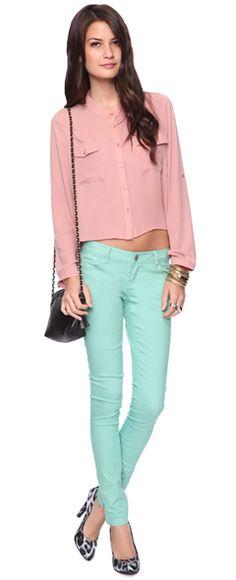 <3 aqua jeans....