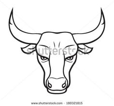 step by step cow drawing face Bull Tattoos, Taurus Tattoos, Head Tattoos, Bull Skulls, Cow Skull, Taurus Logo, Cow Drawing, Bull Cow, Cow Face