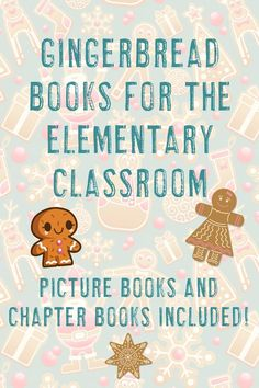 Make reading and learning fun in the elementary classroom with this list of twenty books about Gingerbread and other Christmas cookies. Teachers will love both the picture books and chapter books recommended. Click through to see them all now! #Reading #GingerbreadManBooks Gingerbread Man Activities, Early Finishers Activities, Classroom Pictures, Halloween Math, 4th Grade Classroom, Special Education Teacher, Chapter Books, Picture Books, Fun Math