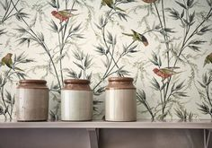 "Papier peint ""Great Ormond St - Signature"" Little Greene"