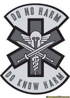 Combat Medic Do No Harm Soldiers, Sailors, Marines, Airmen - - jpeg Army Medic, Combat Medic, Medical Logo, Medical Humor, Military Humor, Military Art, Chicago Skyline Tattoo, Emt Memes, Tactical Medic