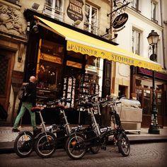 Instagram picutre by @parisbymartin: #best #tour #local #paris #bike #ebike #pastry #oldest #bakery #break parisbymartin.com #hidden #gems #highlights - Shop E-Bikes at ElectricBikeCity.com (Use coupon PINTEREST for 10% off!)