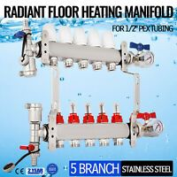 Details About Reliance 1 Stainless Steel Underfloor Heating