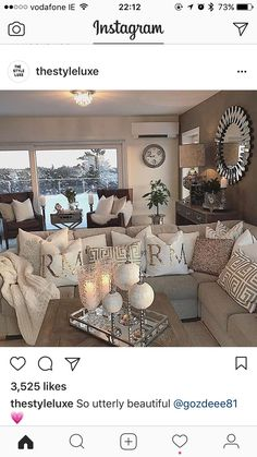 Stunning Rustic Living Room Design Ideas Rustic style is a popular interior style particularly suited to people who want a unique, handmade products, Apartment Decor, New Living Room, Home, Rustic Living Room, Living Room Design Modern, Apartment Living, Farm House Living Room, Living Room Designs, Living Room Decor Cozy