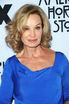 Jessica Lange. Still beautiful and amazingly talented. If you haven't seen her in American Horror Story watch it now!