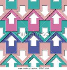 my arrows pattern Arrow Pattern, Abstract Images, Pastel Colors, Royalty Free Stock Photos, Quilts, Arrows, Illustration, Fabric, Pictures