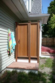 outdoor shower (TDI)