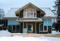 Каркасный дом своими руками: инструкция, важные моменты Homemade Sauna, Sheds, Diy And Crafts, Cabin, House Styles, Projects, Home Decor, Walls, Cottage House Designs