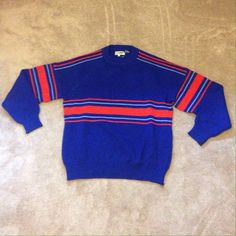 Vintage Oversized Striped Sweater Vintage oversized striped sweater. Very comfortable in the winter. Fits like a large/x-large. Vintage Sweaters