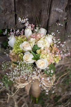 rustic fairytale #wedding (photo: jessy carte) - bouquet
