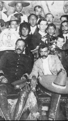 Pancho Villa y Emiliano Zapata, 20 de noviembre, día de la Revolución Mexicana
