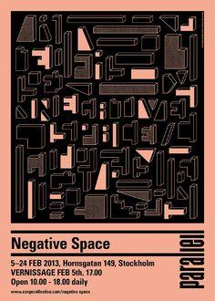 EXHIBITIONS - NEGATIVE SPACE