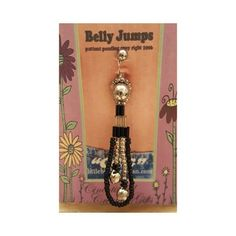 """Belly button jewelry Silver /black """"Belly Jumps"""" are my creations can only get them through me. Patented.  If you have a belly piercing then you can use these. Instructions: Unscrew the ball on the stud Place jewlery over stud Put stud through your piercing and screw the ball back on. That's it! Any design will work on any post. If you already have the stud you can buy the ones I have that do not have the piercing stud. My studs are surgical steel.  Hypoallergenic CCG Jewelry"""