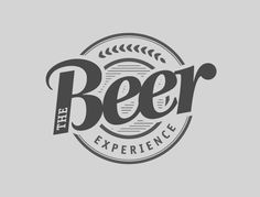 The Beer Experience #logo by eamorim_ , via Behance #typography #lettering