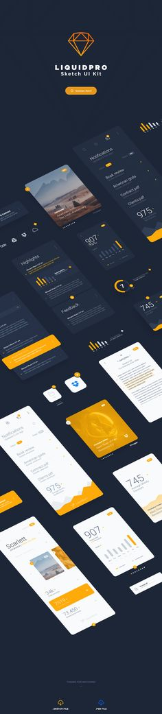 Friends! Now's the time to relax and enjoy LiquidPro – Free Sketch UI Kit. It's wonderful for designers and creators. Totally free! Check it out and apply to your next projects.
