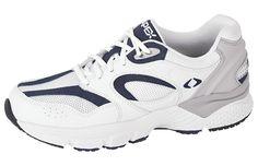 MEN'S BOSS RUNNER - WHITE/NAVY Apex Shoes, Men's Shoes, Periwinkle, Comfortable Shoes, Online Price, Boss, Athletic, Navy, Best Deals