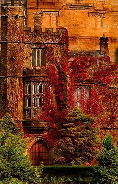 Hornby Castle, Lancashire, England is a country house developed from a medieval castle
