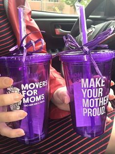 Sending out thanks to all our Movers for Moms® collection partners! #MoversforMoms2016