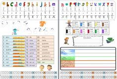 Sous mains pour CP Cap Maths, French Worksheets, Core French, French Classroom, French School, French Teacher, French Immersion, Montessori, Language