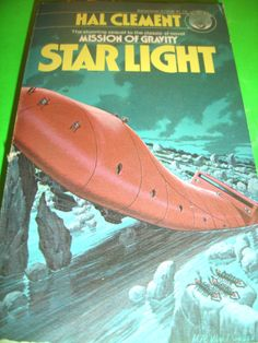 STAR LIGHT BY HAL CLEMENT 1978 SF PB BOOK