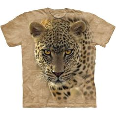 The Mountain ON THE PROWL Africa Leopard Big Cat T-Shirt S-3XL NEW #TheMountain #GraphicTee