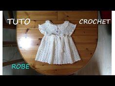 (2) TUTO CROCHET COMMENT FAIRE UNE ROBE - YouTube