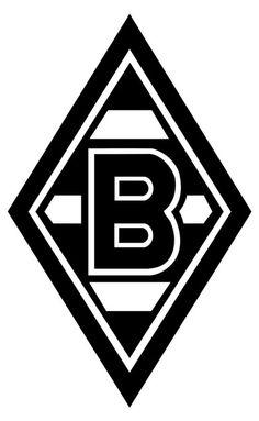 Borussia Mönchengladbach (Borussia VfL 1900 Mönchengladbach e.V.) | Country: Germany / Deutschland. País: Alemania. | Founded/Fundado: 1900/08/01. Badge / Crest / Escudo.