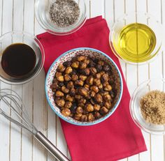 Roasted Chickpea Bacon from Baconish by Leinana Two Moons