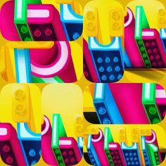 Work in Progress !! kids  photoshop colors  characterdesign  digitalart  crazy  love behance design inspiration design leggo   designer letras type graphicdesigncentral machine  neon typeface  c4d art  lettering