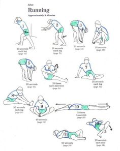 thatsfitastic: 12 helpful stretches to do when you finish your trail run.    good to know