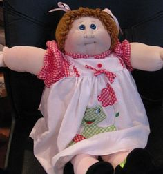 CABBAGE PATCH SOFT SCULPTURE  XAVIER ROBERTS  SELLING FOR A FRIEND