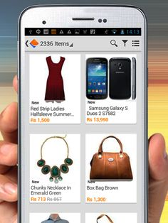 Shopping at your fingertips!!