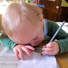 My tiny writer