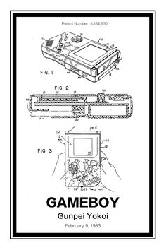 Nintendo Gameboy Patent                      – Retro Patents
