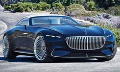 CAs On/Off Road | The latest concept car from Mercedes-Benz pairs future technology with elements of the past, featuring a design inspired by art deco. The Vision Mercedes-Maybach 6 Cabriolet, unveiled at the Pebble Beach Concours d'Elegance in California, is designed to offer a glimpse of what the German auto brand's luxury models could one day look like.