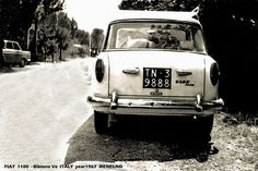 A Fiat 1100, year 1967    Credits: http://www.flickr.com/photos/30797788@N03/5045063761/