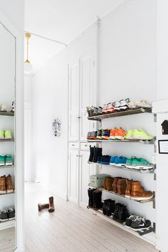 Entryway Bench with Shoe Storage . Entryway Bench with Shoe Storage . Small Modern Entryway Shoe Storage Design Bined with Entryway Shoe Storage, Garage Storage, Cheap Storage, Entryway Ideas, Shoe Storage Ideas For Garage, Entryway Closet, Closet Doors, Clothes Storage, Wall Mounted Shoe Storage