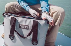 YETI Hopper Soft Side Cooler - no leaks and ice lasts for days, even in heat!