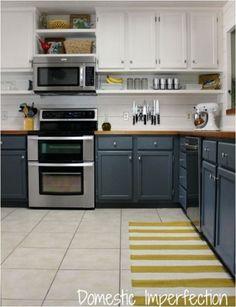 raise cabinets add shelf domesticimperfection