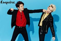 Toheart's Key and Woohyun Playfully Throw Punches in Esquire's April Issue