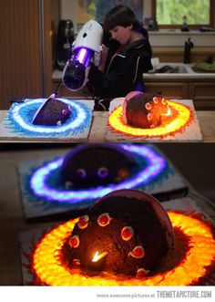 This is the most awesome birthday cake I have ever seen ever and that includes the dragon cake.