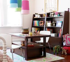 Our Art And Craft Table. I Love The Parsons Play Table On Westelm.com |  Boys Room/nursery | Pinterest | Crafting, Our Kids And Sock Monkeys