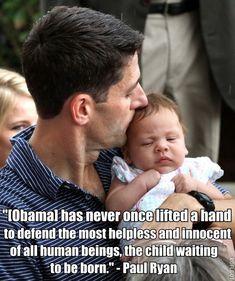 Pro-life Paul Ryan