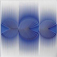 ALBERTO BIASI http://www.widewalls.ch/artist/alberto-biasi/ #contemporary #art #kineticart