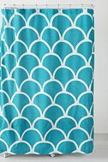 #urbanoutfitters top 10: Scallop Stamp Shower Curtain