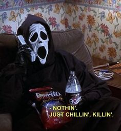 My Current October Mood. funny lol humor funny pictures funny memes funny pics funny images really funny pictures funny pictures and images Scary Movies, Horror Movies, Scary Movie Quotes, 90s Quotes, Horror Quotes, Funny Horror, Film Quotes, Mood Pics, Aesthetic Grunge
